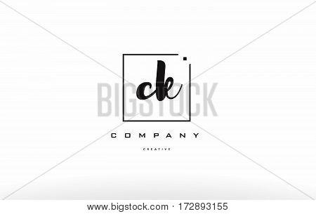 Ck C K Hand Writing Letter Company Logo Icon Design