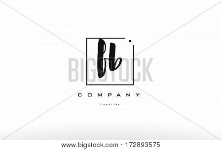 Fb F B Hand Writing Letter Company Logo Icon Design