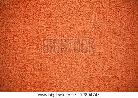 Orange Canvas Fluffy Texture