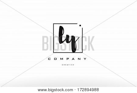 Ly L Y Hand Writing Letter Company Logo Icon Design