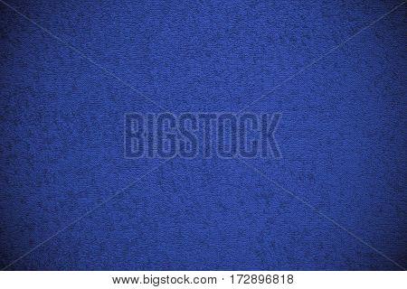 Blue Canvas Fluffy Texture