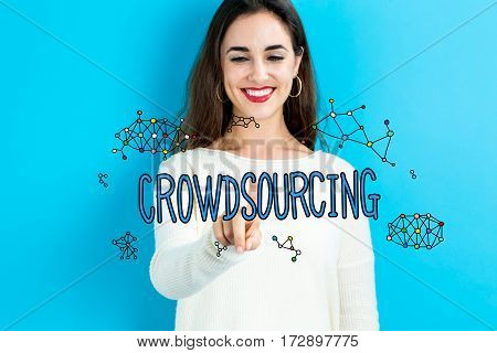 Crowdsourcing Text With Young Woman