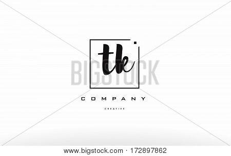 Tk T K Hand Writing Letter Company Logo Icon Design
