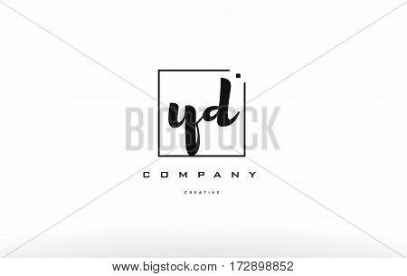 Yd Y D Hand Writing Letter Company Logo Icon Design