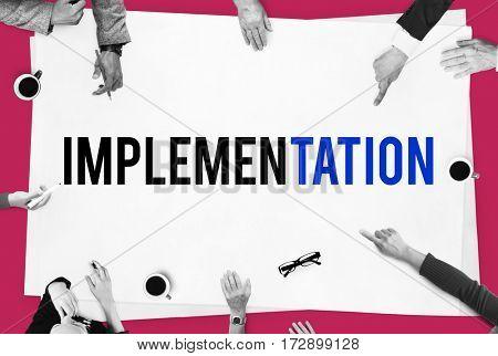 Business Development Goals Expansion Achievement Word
