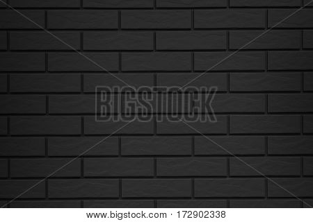 Brick Pattern Black Background