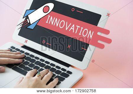 Start Up Business Venture Goals Rocket