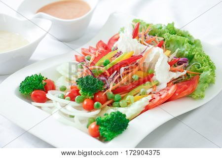 Fresh vegetable salad for your good healthy