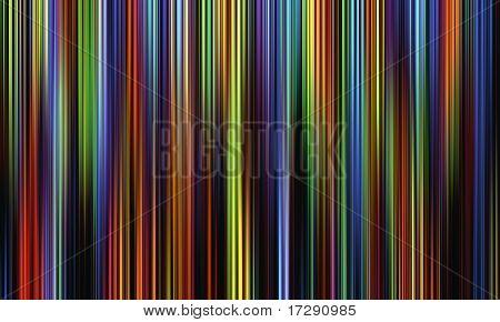 dark multicolored lines