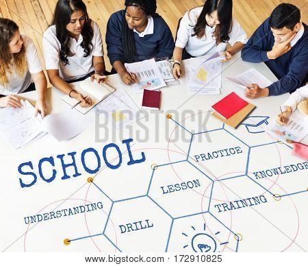 School Institute Academics Lesson Drill Hive