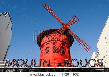 Moulin Rouge Is The Most Famous Parisian Cabaret