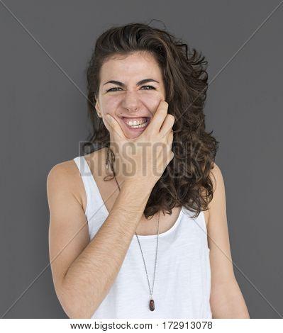 Studio Model Shoot Race Woman Lady