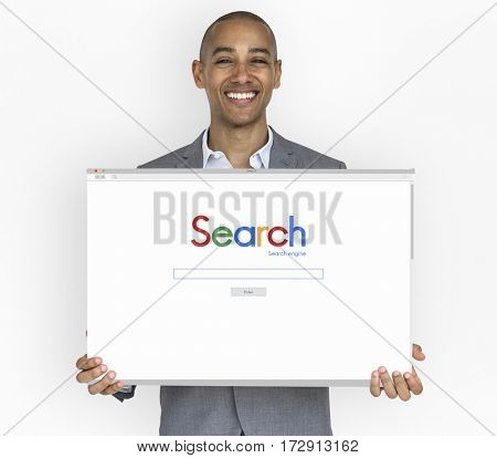 Technology Browser Search Illustration Icon
