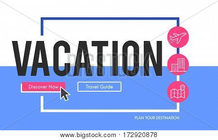Online holiday reservation booking interface