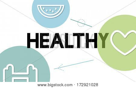 Healthy Life Exercise Vitality Wellness Nutrition