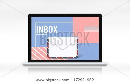 Email Communication Envelope Icon Graphic