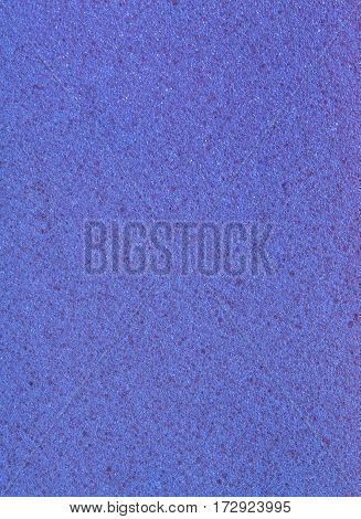 blue color texture of sponge as background