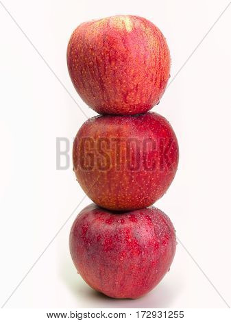 Apple Health FoodsHealthy food in heart and cholesterol diet concept.