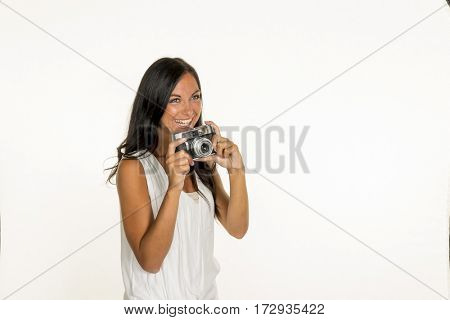 photographed woman