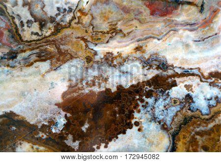 Macro Texture Of Nature -  Onyx