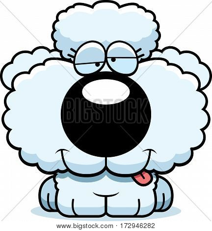 Cartoon Goofy Poodle