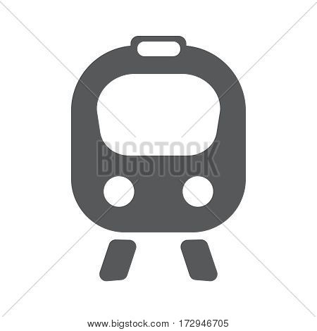Train flat icon. Vector illustration EPS10. Travwl concept