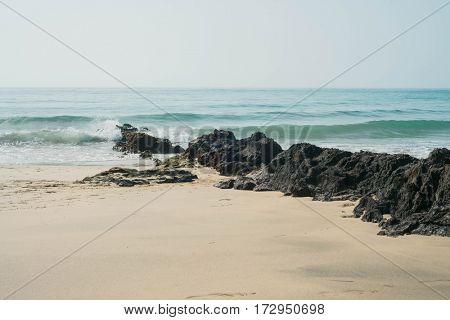 Beach in Fuerteventura, Spain