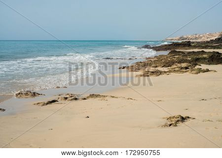 Beach in Fuerteventura, Spain