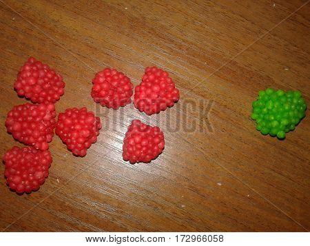 Raspberries - it is one of the most delicious and desirable berries