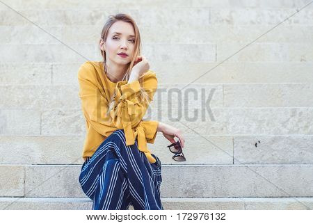 Trendy Young Girl