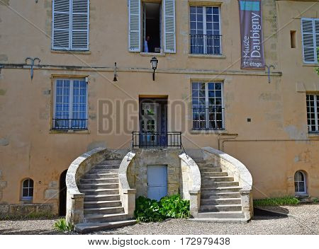 Auvers sur Oise France - august 14 2016 : the Daubigny museum