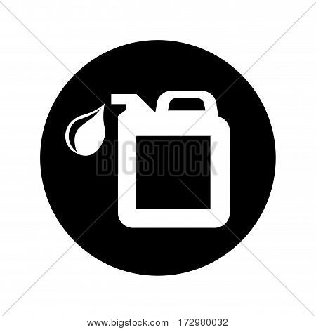 oil gallon isolated icon vector illustration design