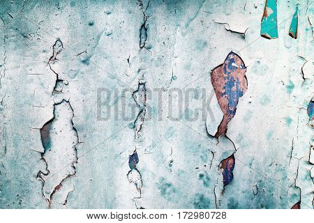 Old shabby metal background