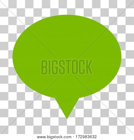 Banner vector icon. Illustration style is flat iconic eco green symbol on a transparent background.