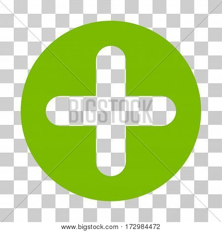 Create vector pictogram. Illustration style is flat iconic eco green symbol on a transparent background.