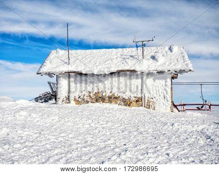 Frozen Meteo Station