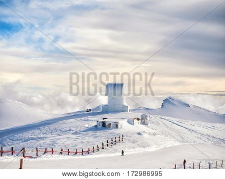 Small Observatory In Kalavrita Ski Center
