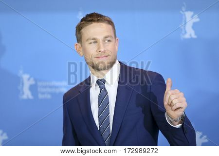 Charlie Hunnam attends the 'The Lost City of Z' photo call during the 67th Film Festival Berlin at Grand Hyatt Hotel on February 14, 2017 in Berlin, Germany.
