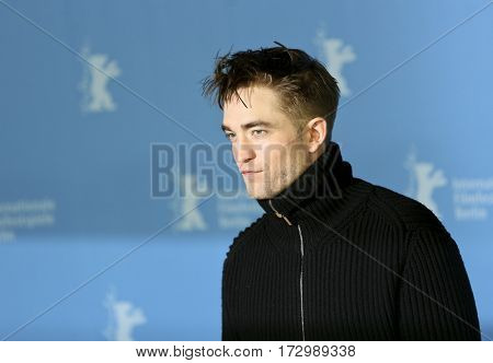 Robert Pattinson the 'The Lost City of Z' photo call during the 67th Berlinale Film Festival Berlin at Grand Hyatt Hotel on February 14, 2017 in Berlin, Germany.