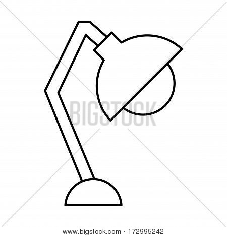 office lamp isolated icon vector illustration design