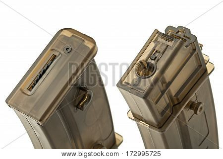 housing for the weapon, isolated on white background