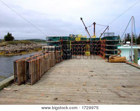 Lobster Traps & Boat