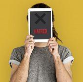 Hatred Rage Animosity Negative Hate Speech poster