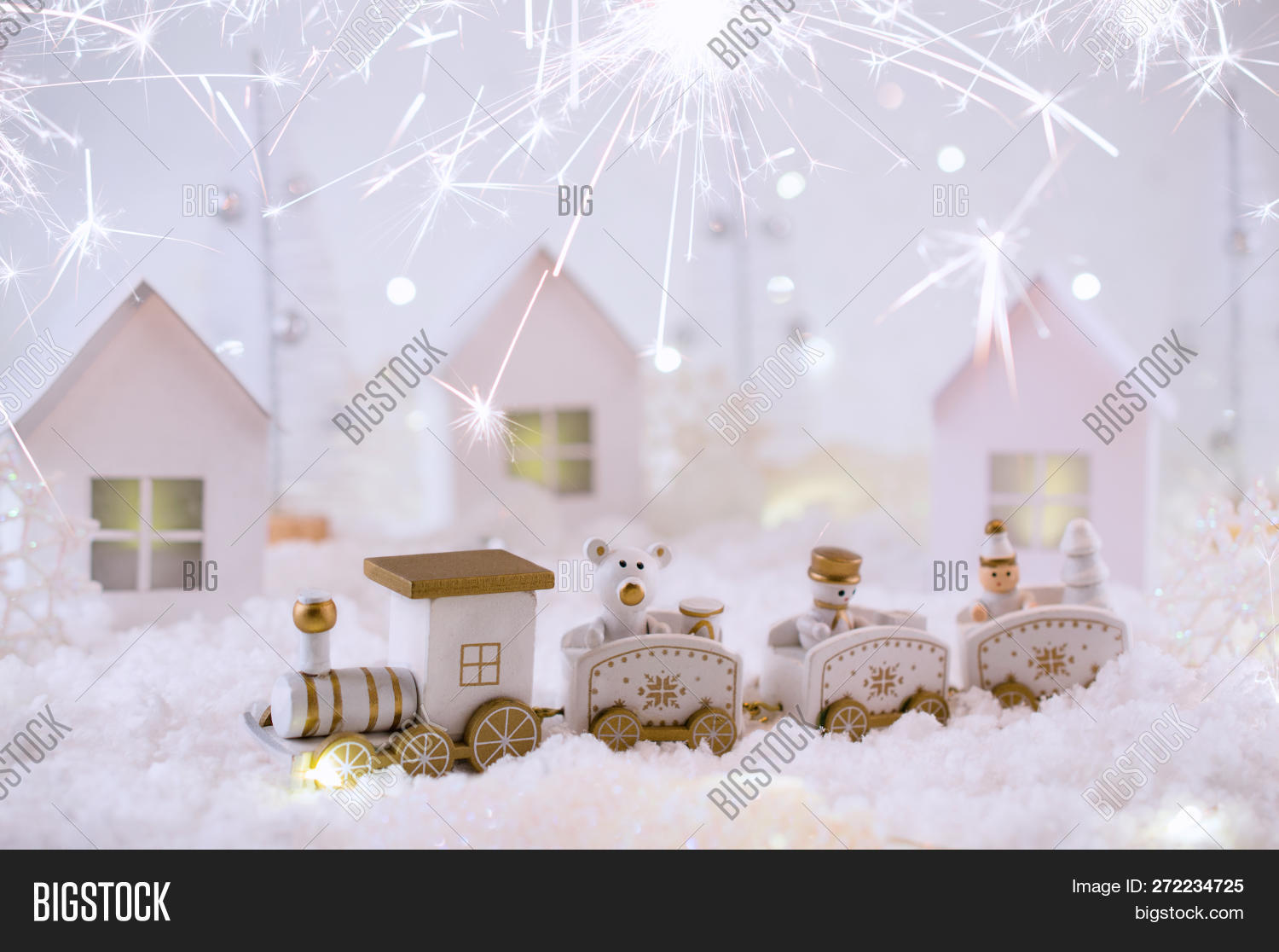 New Year Card Toy Image Photo Free Trial Bigstock