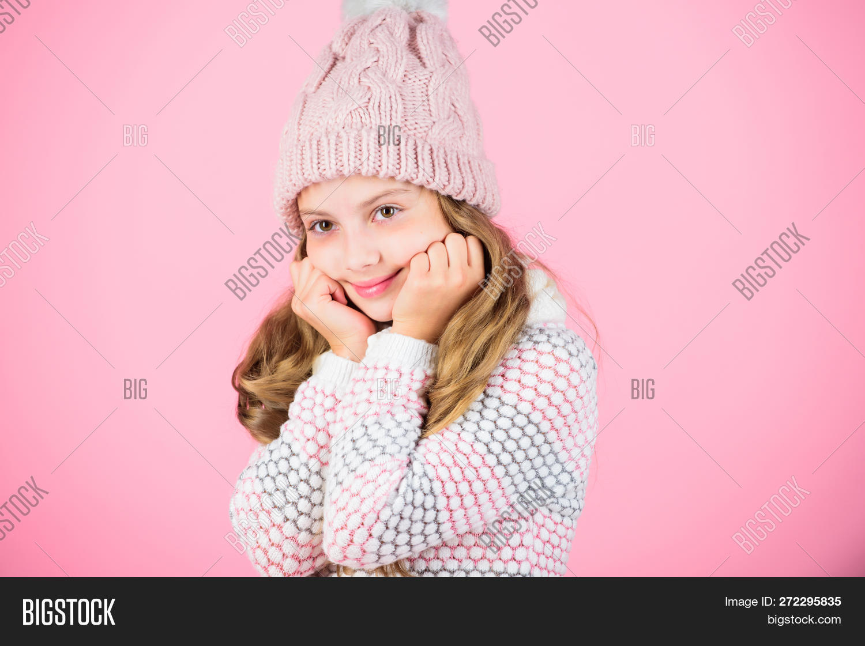 d0883c0867 Child Long Hair Warm Image & Photo (Free Trial) | Bigstock