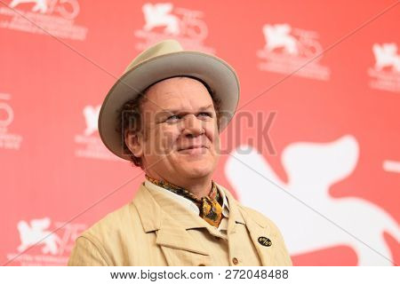 John C. Reilly attends 'The Sisters Brothers' photocall during the 75th Venice Film Festival at Sala Casino on September 2, 2018 in Venice, Italy.