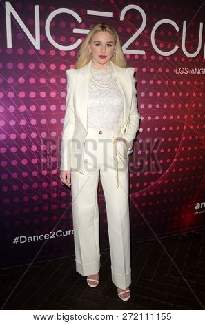 LOS ANGELES - DEC 1:  Chloe Lukasiak at the amfAR Dance2Cure Kickoff Event at the Bardot on December 1, 2018 in Los Angeles, CA
