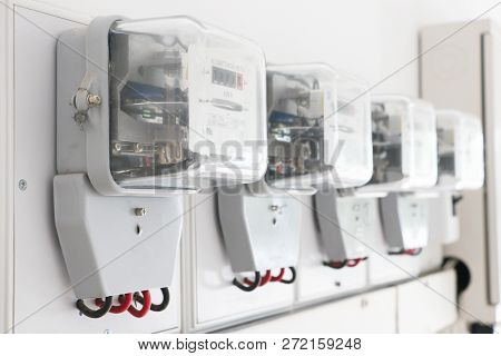 Electrical Equipment.energy Meter Is A Device That Measures The Amount Of Electric Energy Consumed B