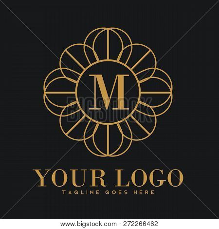 Illustration Of Luxury Logo, Classic And Elegant Logo Designs For Industry And Business, Interior Lo