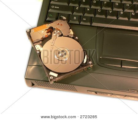 Laptop And Hard Disk